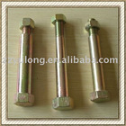Shock absorber screws