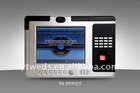 Biometric time attendance system with HD camera & access control