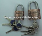 heavy duty zinc alloy padlock with atom keys