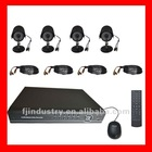 Home 4CH CCTV DVR Day Night Weatherproof Security Camera Surveillance Video System 4ch Kit for DIY CCTV Systems