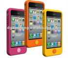 for iphone 4G S silicon soft case cover