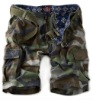 Men camo shorts bermuda shorts