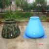 pvc folding durable onion rainwater bag