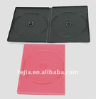 9mm double black PP dvd case with eco-friendly