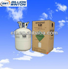 Purity of 99.9% r12 freon refrigerant replacement gas from China