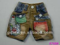 2012 New summer denim short kids jeans