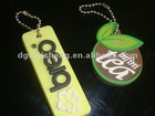 Promotional new design Rubber Soft PVC key chain