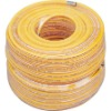 Pvc high pressure spray hose with brass end fitting