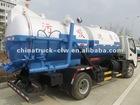FAMOUS 4x2 Combi Vacuum Tanker truck