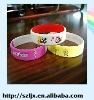 Hot selling promotional silicone wristband