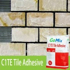Gomix Marble Mortar for Marble Adhesive-high bond strength,anti-slump,hard finish,for all sizes,grey or white color,cost saving