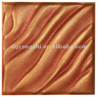 BYD-01 Embossed leather 3d wall panel ceiling materials board