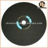 flat aluminum oxide cutting disc for steel