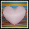 sublimation heart pillow-pink/sublimaiton pillow
