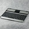 Hot for i pad bluetooth keyboard aluminum with lithium battery