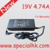 90W 19V 4.74 Laptop AC Power adapter supply with ROHS
