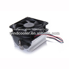 80mm aluminum amd 775 cpu cooler fan