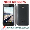 WCDMA 3G android 4.0 os MTK6575 4.3 inch TFT touch screen n800 smartphone