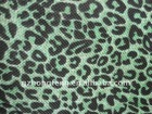 Leopard leather,Linen Fabric for handbags
