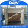 sand stone fireplace