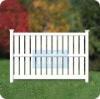 Natural PVC Privacy Fence