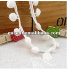 water-soluble drops lace trim