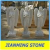 Angels White Marble Statue