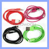 Coloured Data Cable for iPhone 5 8 Pin USB Cable