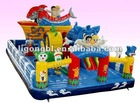 Designed Inflatables castle with strong PVC