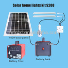 High Quality Ce Rohs Solar Light - home use with 2 pcs 18w LED tube and 1 PCS 10w bulb