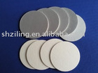 Food package-induction seal liner, two pieces