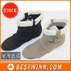 Fashion Lady boots with Fur outside in stock