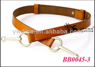 New Arrival! Unique Mens Belts Leather Belts Wholesale With Size 2.35*70cm BB0045-3