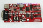 LED control system U plate control card convenient and quick