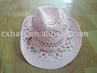 XH09-007 Malan hat,sell straw hat, cowboy hat,fashion hat