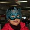 PVC Mardi Gras mask