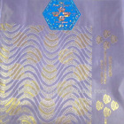 African jubilee headties of lilac color(H509)