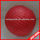 red paper japanese hanging lantern
