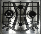 SH600-C7 60cm Inox 4 burner Built-in Gas Hob