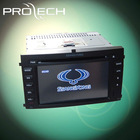 SSANGYONG REXTON LASSERTER CAR DVD GPS player 2DIN integrated car DVD player Digital touch Screen Fixed panel with USB/SD