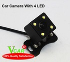 Car Reverse Camera With LED IR Light