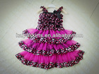 New Arrivals! !Girls Boutique baby girls satin chiffon petti pageant dress for valentine's day