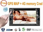 "universal touch buttons 6.2"" Car DVD GPS player IPOD ,USB,SD,HD"