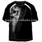 Mens polyester/spandex moisture wicking MMA T-Shirt
