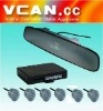 VFD Rearview Mirror LED Display Parking Sensor /VCAN0393