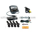 """Video Parking Sensor with Camera and 3.5"""" Monitor"""