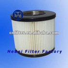 paper piston compressor air filter with small MOQ, compressor air filter with OD 130mm ID and height 80mm