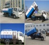container garbage truck
