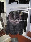 lady's fashion authentic fur jacket