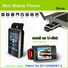 "sWaP-Nova small mobie phone 1.76"" touch screen"